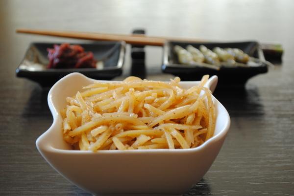 Камді ча. Салат картопляний по-корейськи