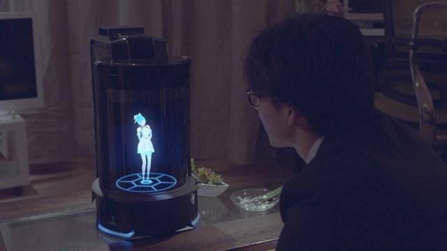 Японці розробили електронну дружину - вайфу (відео)