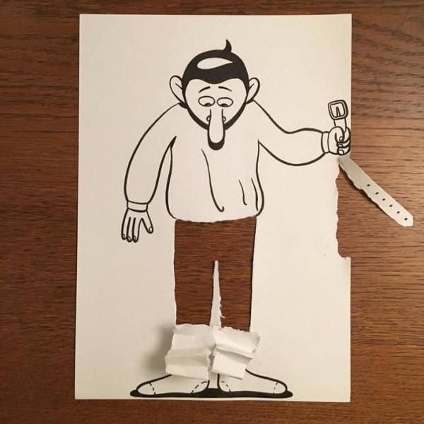 Цікаві 3D-малюнки датського художника (фото)