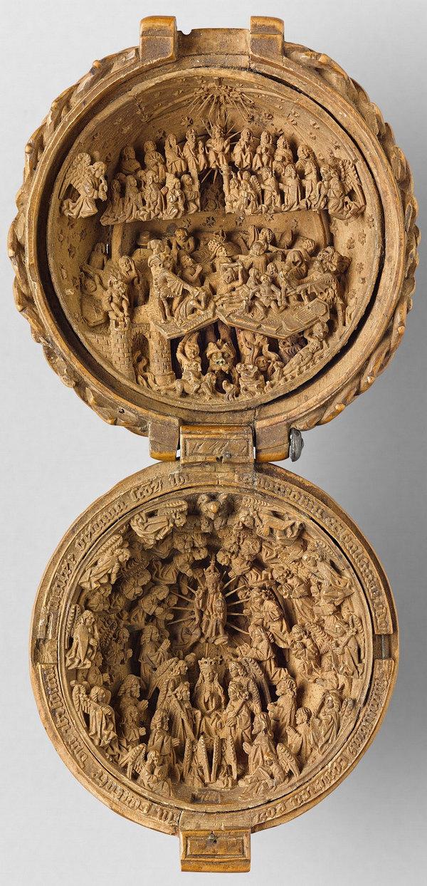 Самшитові фігурки 16-го століття (фото)
