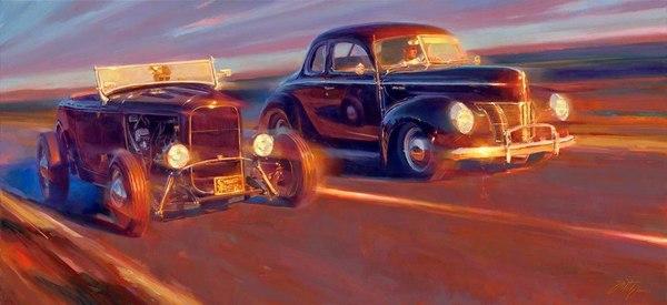 Том Фріц та його картини олією (фото)