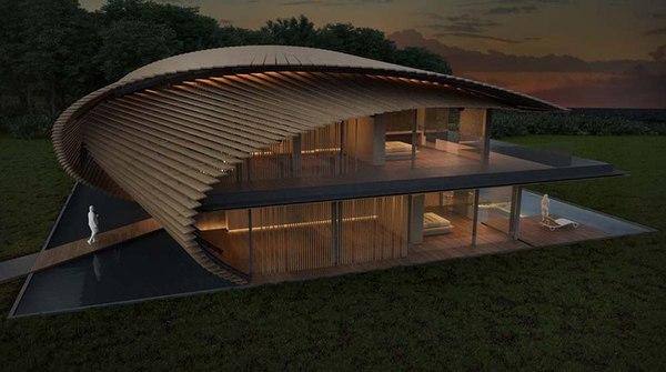 «Бутон квітки» - проект павільйону японського архітектора (фото)