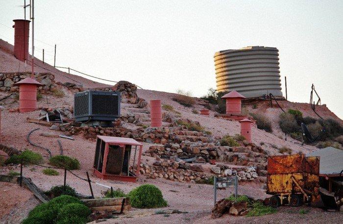 Підземне місто в пустелі Австралії (фото)