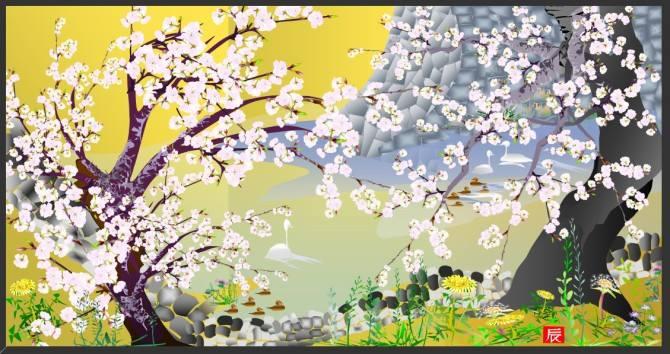 Японець малює картини в Ексель (фото, відео)