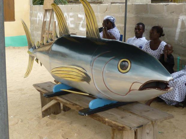 Як ховають небіжчиків в Гані? (фото)