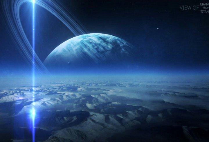 Вигляд на планети Сонячної системи з їх супутників (фото)