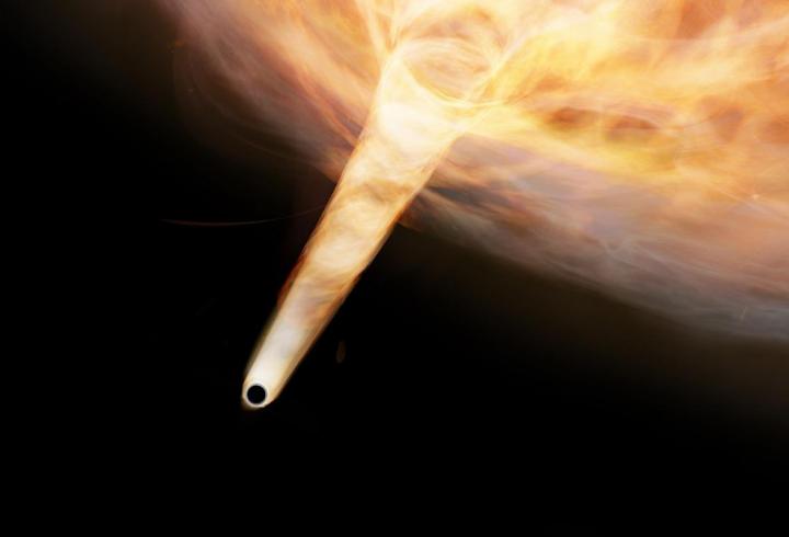 В нашій Галактиці виявлено «заховану» чорну діру