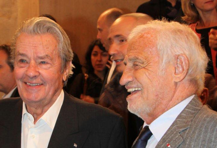 Ален Делон і Жан-Поль Бельмондо тоді і зараз (фото)