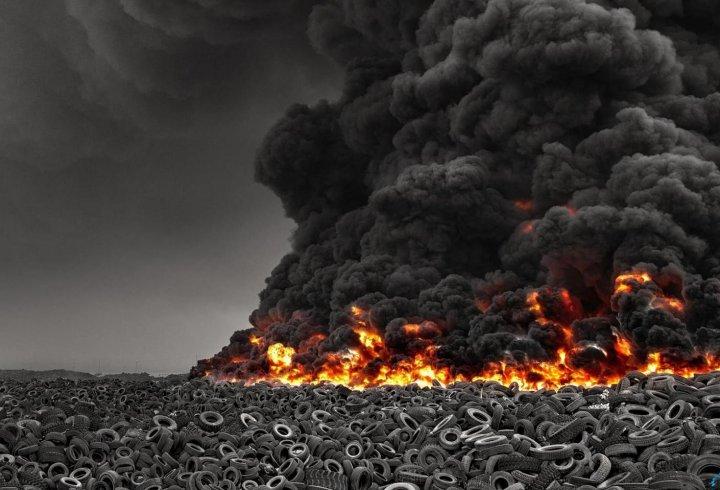 Сулабія – найбільше звалище шин у світі (фото)