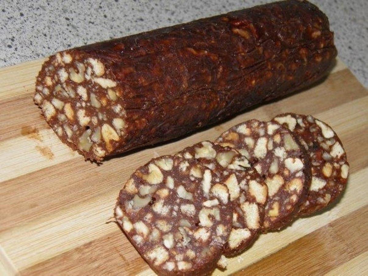 Колбасный торт из печенья рецепт пошагово