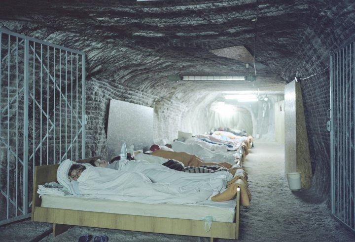 Підземний санаторій в Солотвино (фото)
