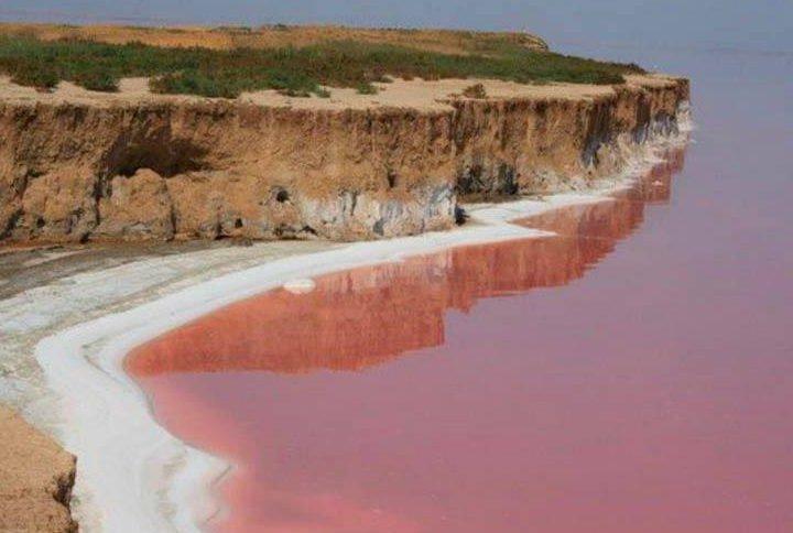 В Україні на Херсонщині є своє «Мертве море»