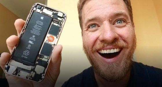 Американський розробник зібрав iPhone 6s із запчастин, куплених на китайських ринках (відео)