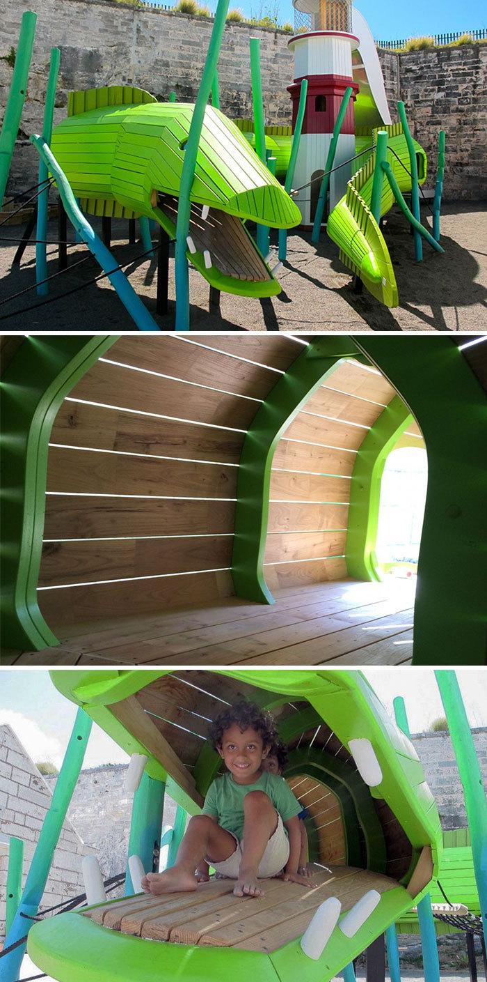 Креативні дитячі майданчики в Данії (фото)