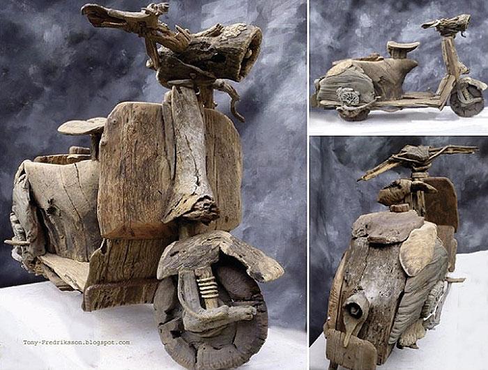 Скульптури з дерева Тоні Фредрікссона (фото)