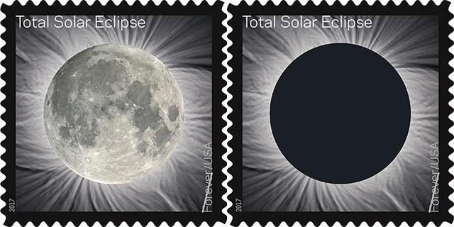 Пошта США випустить інтерактивну марку з сонячним затемненням