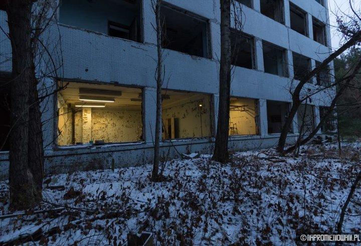 Польські ентузіасти ввімкнули світло в Прип'яті через 30 років (фото)
