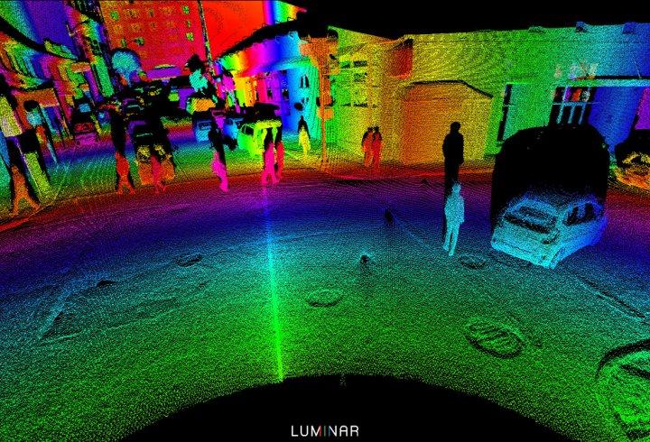 Як «бачать» навколишній світ безпілотні автомобілі (фото)