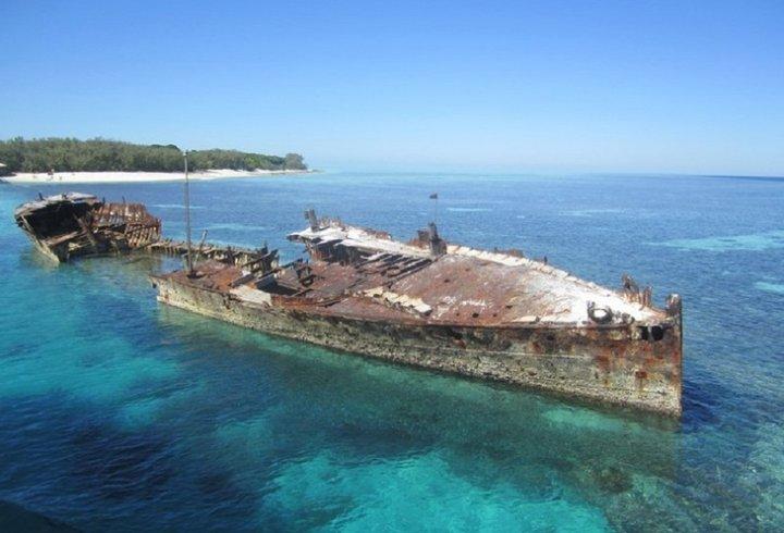 Кораблі, які назавжди залишилися на мілині (фото)