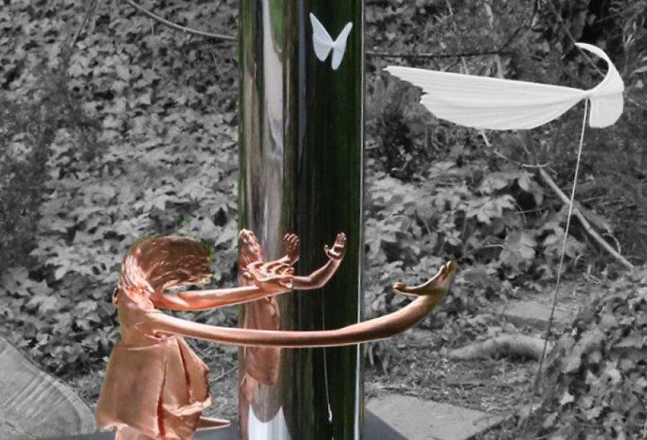 Скульптури, які можна побачити лише у відображенні (фото)