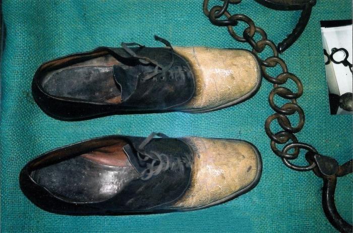 Джордж Перрот - грабіжник, який став парою черевиків (фото)