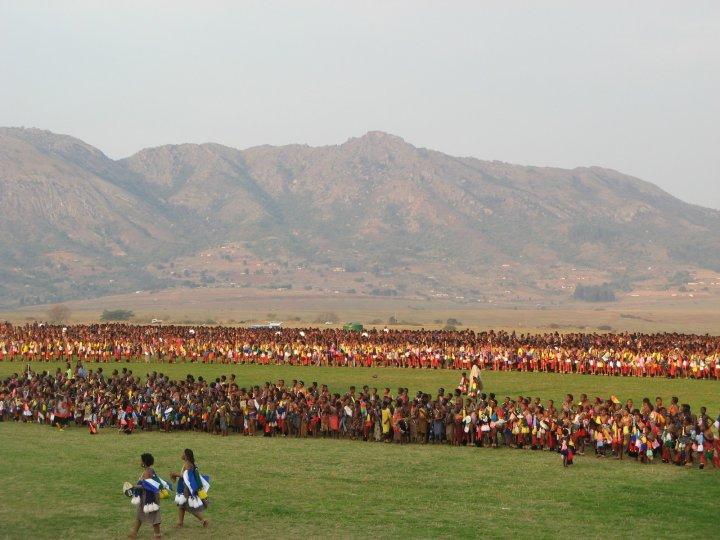 Як король Свазіленду вибирає собі дружину (фото, відео)