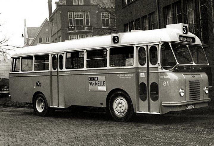Daf Domburg - автобус з висувним двигуном (фото)