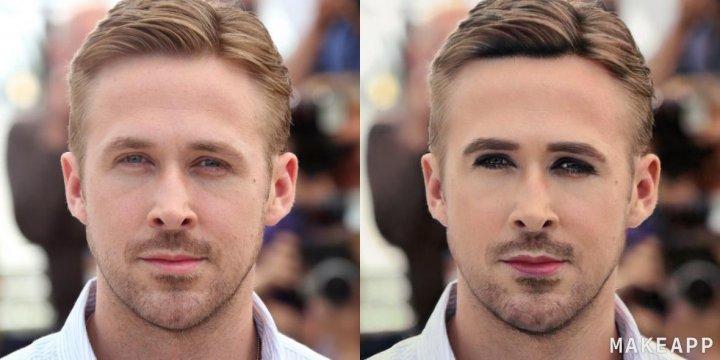 Комп'ютер навчили знімати макіяж з фотографій і протестували на знаменитостях (фото)