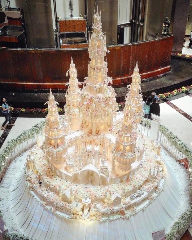 Надзвичайно складні весільні торти від кондитерів з Індонезії (фото)