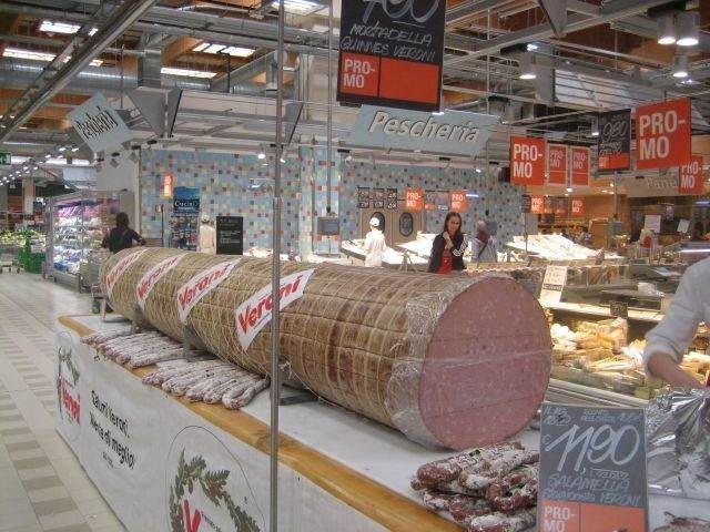 Болонська ковбаса мортаделла (фото)