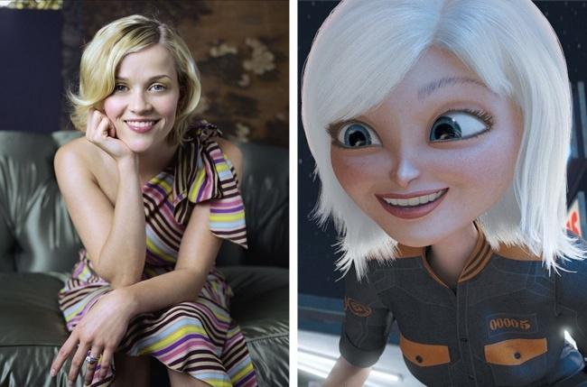 15 персонажів мультиків, які були змальовані з голлівудських акторів
