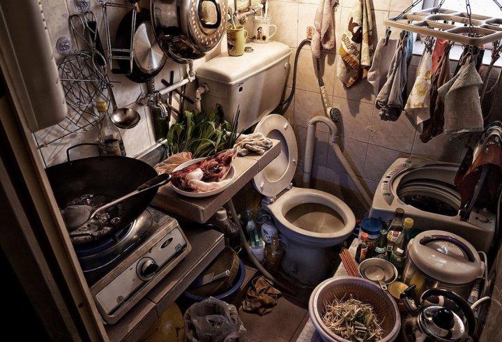 Життя в труні або як живуть в квітучому Гонконзі (фото)