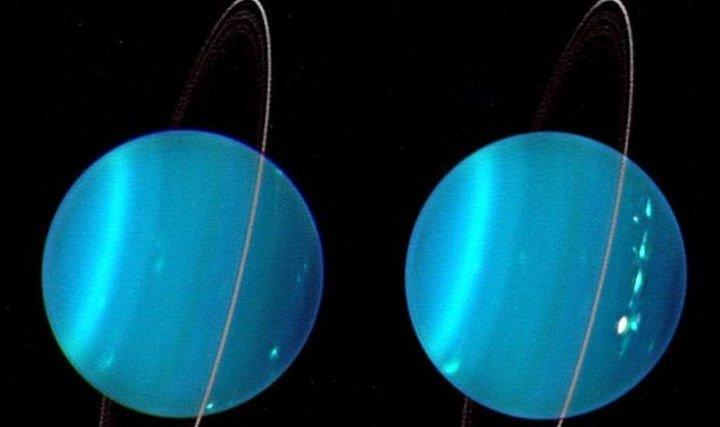 Уран - найдивніша планета Сонячної системи