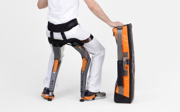 Екзоскелет-стілець для людей, які працюють на ногах (фото)