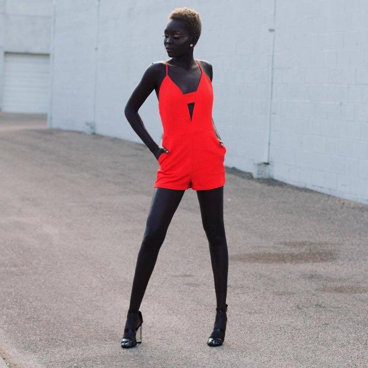 Ньяко Гатвех - найчорніша модель в світі (фото)