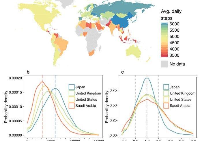 Де живуть лежебоки: фізична активність в різних країнах
