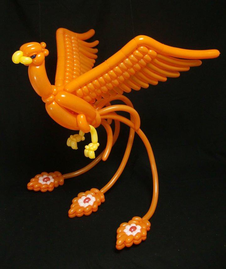 Скульптури з повітряних кульок (фото)