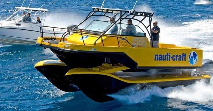 В Австралії придумали катер з підвіскою, що поглинає хвилі (фото, відео)