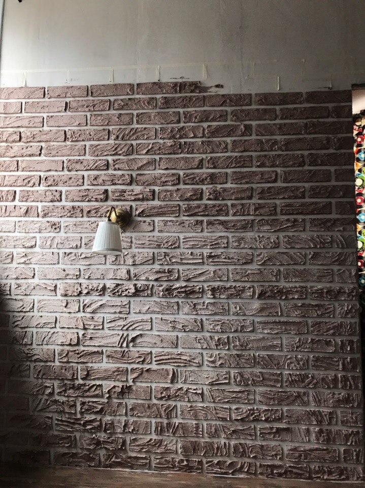 Імітація цегляної стіни своїми руками (фото, відео)