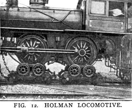 Вільям Холман, паровозний аферист