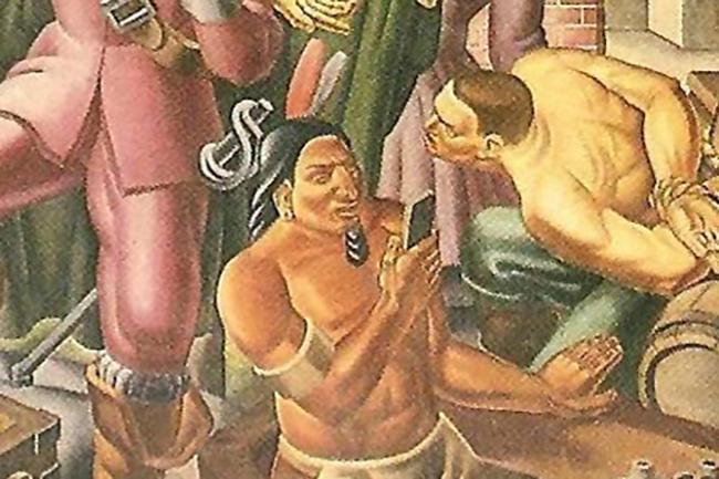 На картині 1937 року знайшли «айфон»