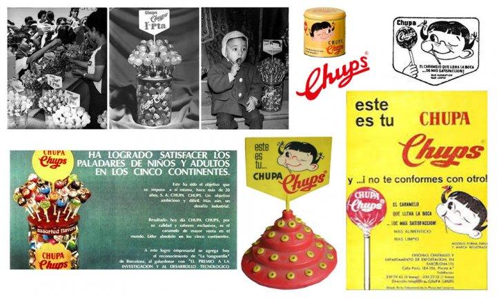 Chupa Chups - історія бренду (фото)