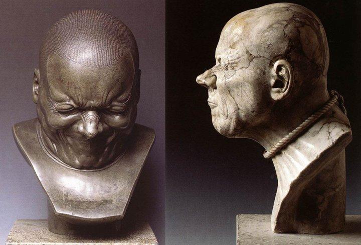 Голови Франца Мессершмідта (фото)