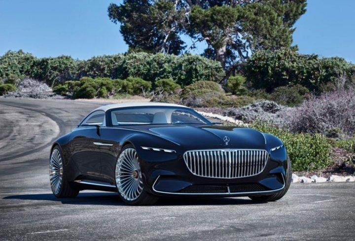 Електричний кабріолет Vision Mercedes-Maybach 6 (фото)