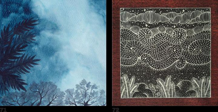 Проект «Одне небо». 88 художниць зі всього світу одночасно намалювали небо