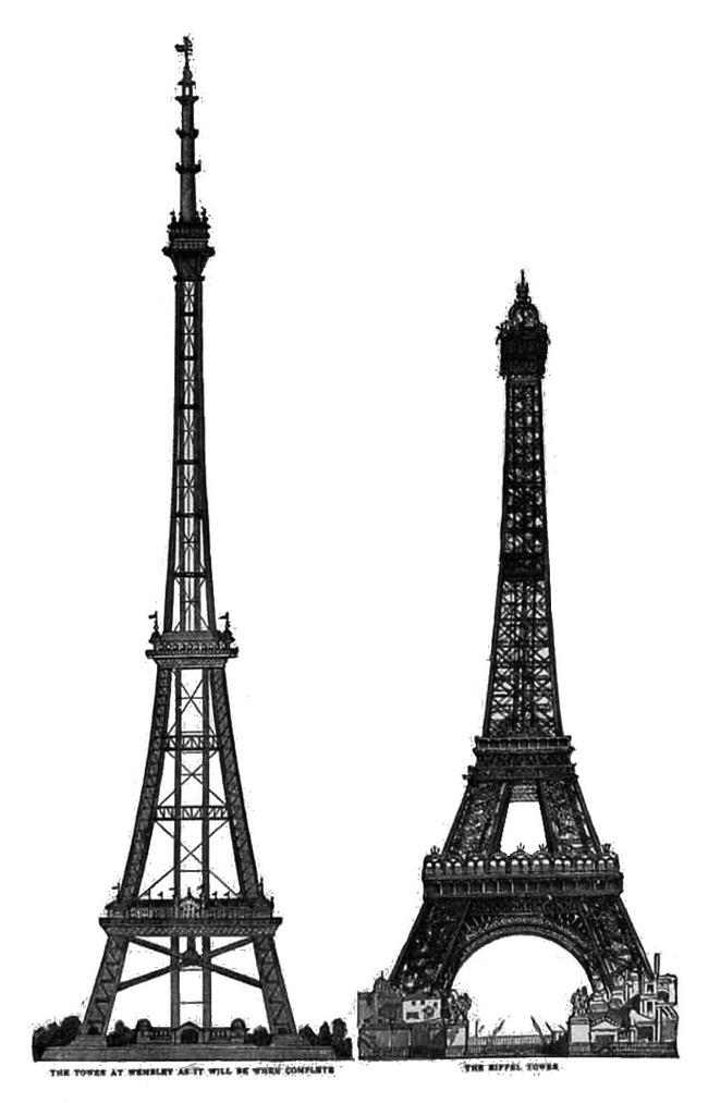 Як англійці захотіли собі Ейфелеву вежу (фото)