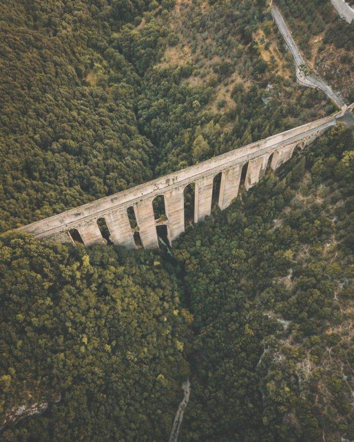 Акведук Понте дель Торрі, Сполето (фото)