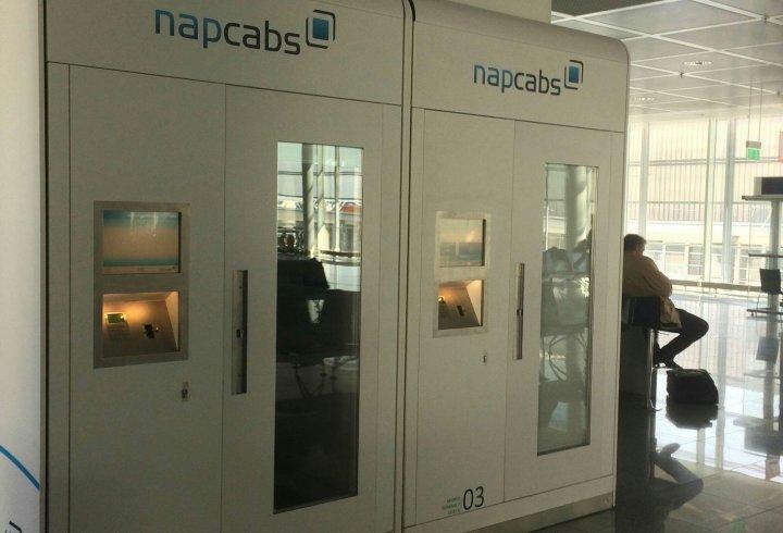 Спальні кабіни в аеропорту (фото)