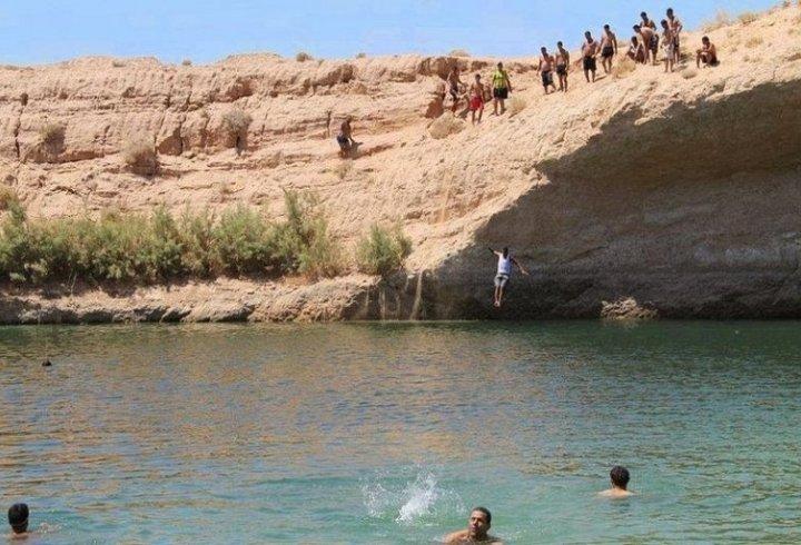 Лак-де-Гафса - озеро, що з'явилося за один день (фото, відео)