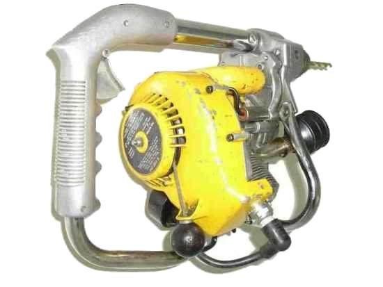 Дриль з бензиновим двигуном (фото, відео)